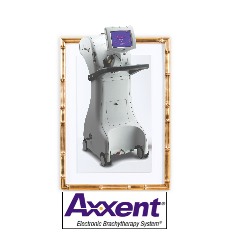 Axxent eBx System (radiation therapy for Gyn cancer, skin cancer and IORT) made by Xoft, U.S.A